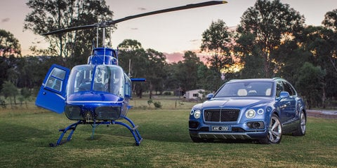 Touring the Hunter Valley in the Bentley Bentayga Diesel