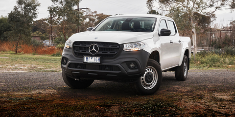 mercedes benz x class review specification price caradvice. Black Bedroom Furniture Sets. Home Design Ideas