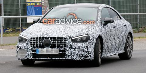 2020 Mercedes-AMG CLA45 spied again