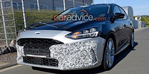 2019 Ford Focus ST interior spied