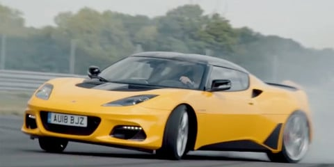 Lotus celebrates 70 years by burning lots of rubber - video