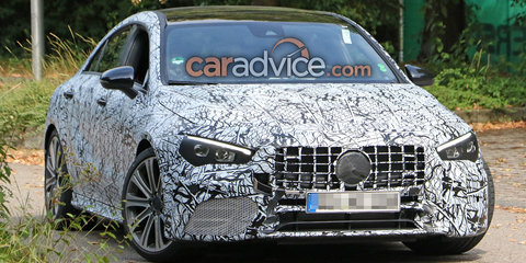 2020 Mercedes-AMG CLA45 spied