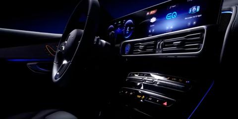 2019 Mercedes-Benz EQC interior previewed