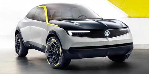 Vauxhall GT X Experimental concept revealed