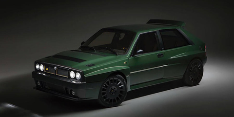 Lancia Delta Integrale reborn: Automobili Amos Futurista revealed