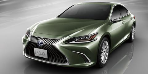 Lexus ES to debut digital exterior mirrors in Japan
