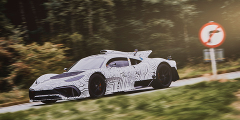 Mercedes-AMG Project One snapped in testing