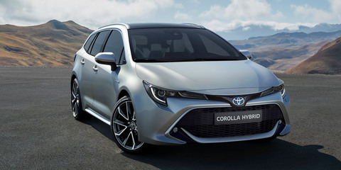 2019 Toyota Corolla wagon revealed
