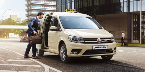 Volkswagen Transporter, Caddy go electric with ABT