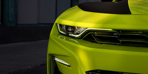 Chevrolet Camaro 'Shock' revealed for SEMA