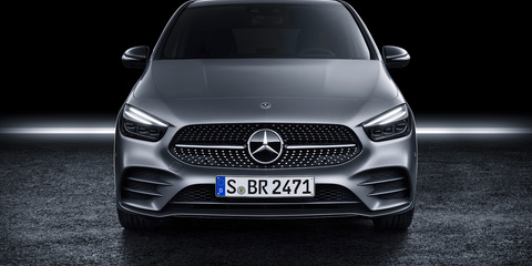 2019 Mercedes-Benz B-Class revealed, here mid-2019
