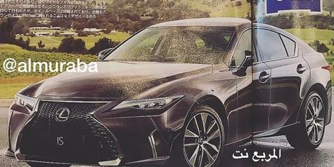 2020 Lexus IS rendered