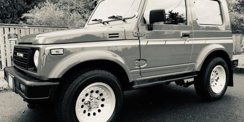 1989 Suzuki Sierra JX (4x4) review Review