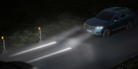 Volkswagen demos next-gen lighting technology
