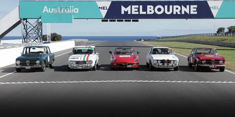Alfa Romeo Giulia and the 105: Targa Florio Australian Tribute