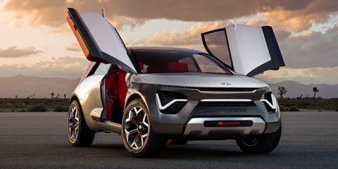 Kia Habaniro concept unveiled