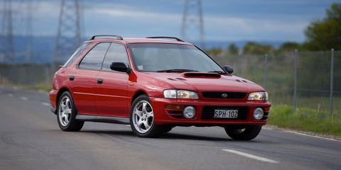 1997 Subaru Impreza Review