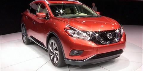 Nissan Murano at NYIAS 2014