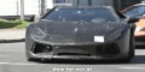 Lamborghini Jota Spied Testing