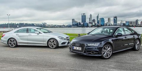 Audi A7 TDI Biturbo vs Mercedes-Benz CLS 500 Review