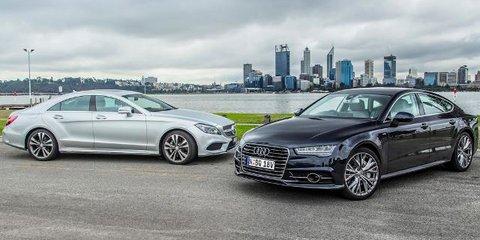 Audi A7 TDI Biturbo vs Mercedes-Benz CLS 500 Review