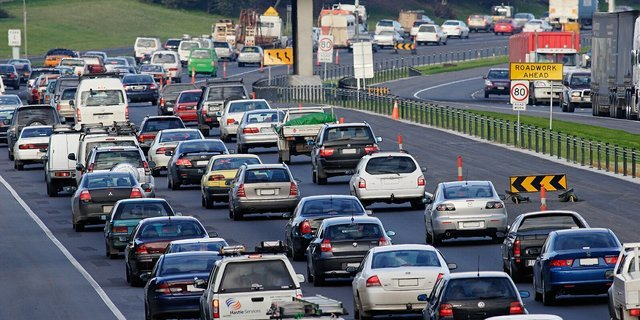 Sydney is Australia's most congested city