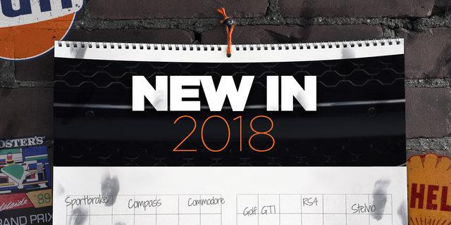 New Cars: 2018 New Car Calendar, the August update