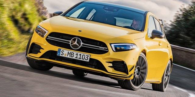 2019 Mercedes-AMG A35 revealed, here in late 2019