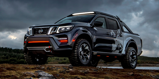 Nissan Navara Dark Sky concept revealed