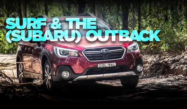 Surfing trip to Ulladulla in the 2017 Subaru Outback 2.5i Premium
