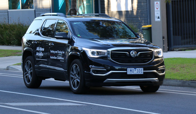 Holden singing GMC praises, trumpeting US connection with new Acadia