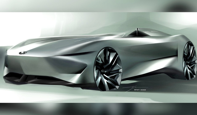 Infiniti Prototype 10 previewed ahead of Pebble Beach launch