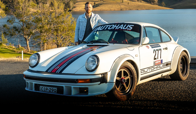Meeting your heroes: The Autohaus Porsche 911 SC Grp 4