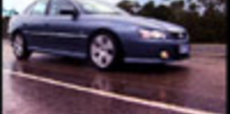 Holden Commodore with Electronic Stability Program