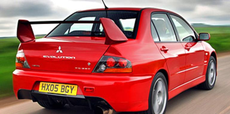 Mitsubishi Lancer Evolution IX 9
