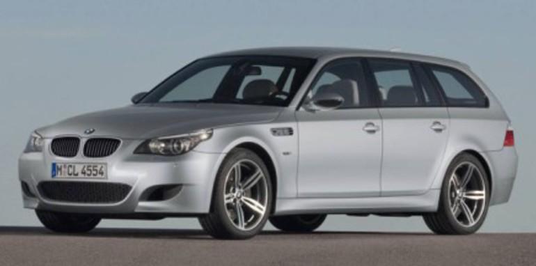 BMW M5 Touring Wagon side