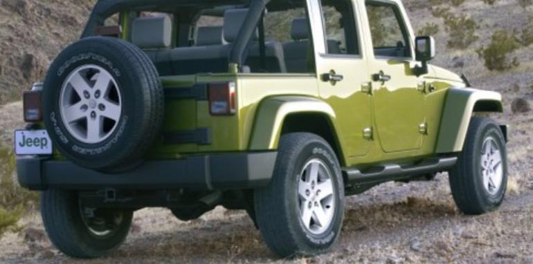 2007 Jeep Wrangler Unlimited Rear