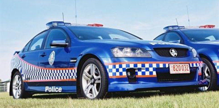 Northern Territory SS Commodore Police Car