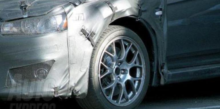 Mitsubishi Lancer Evo X Spyshots