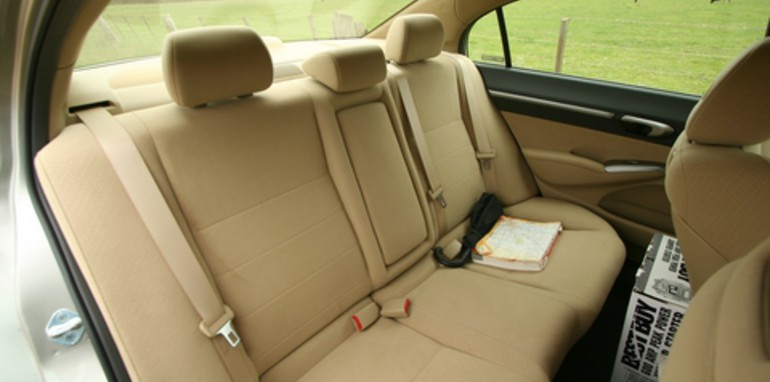 Honda Civic Hybrid Rear Interior
