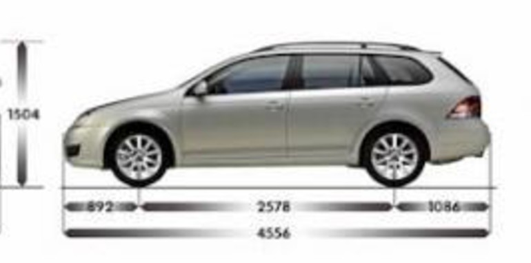 New Golf Variant Station Wagon Dimensions