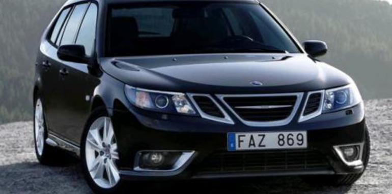 2007 Saab 9-3 Wagon Front