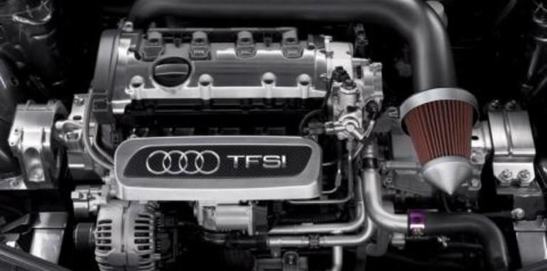 Audi TT Clubsport Quattro Concept Engine