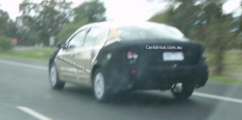 2008 Ford Falcon 'Orion' Spy Shots