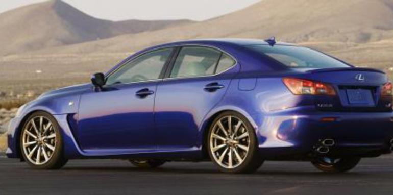 Lexus Australia Announces Lexus-F Range