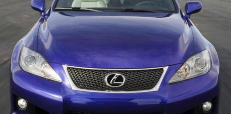 Lexus IS-F Front