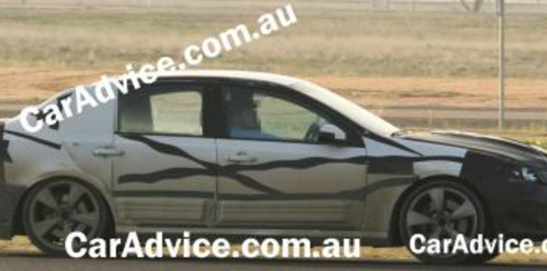 Ford Falcon Orion Spy Shots