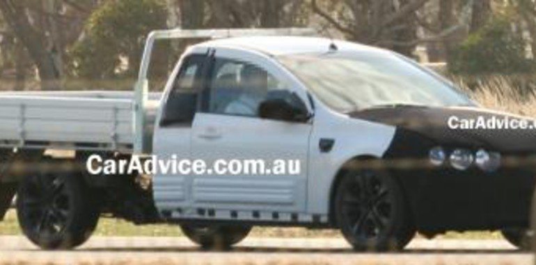 Ford Falcon Orion Ute Spy Shots - CarAdvice