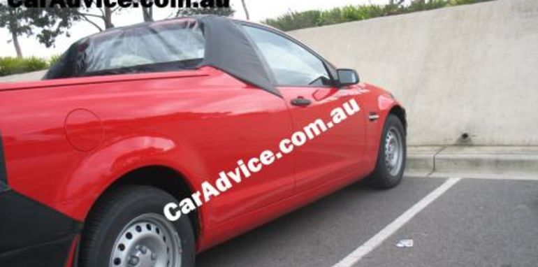 2007 Holden Commodore VE Utility Spy Photographs