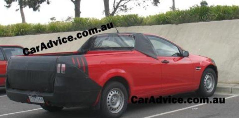 2007 Holden Commodore VE Ute Spy Photographs
